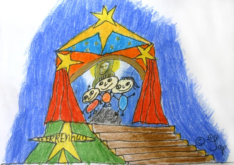 doelgroep kinderen vertellen foto s tekeningen tekeningen